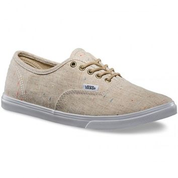 Vans Authentic Lo Pro Speckle Linen Shoes