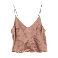 Can Pep Rey Nude Cami Tank Top / Shop Super Street