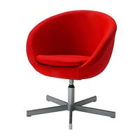 Swivel chair, Alm?s red