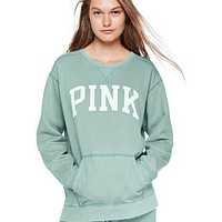"""PINK"" Victoria's Secret Shirt Pullover Sweater Blouse Top(7-Color) Light green"