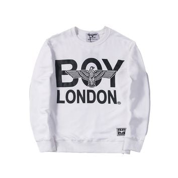 auguau Boy London Eagle & Word Logo Sweater