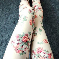 FASHION ROSE LEGGINGS