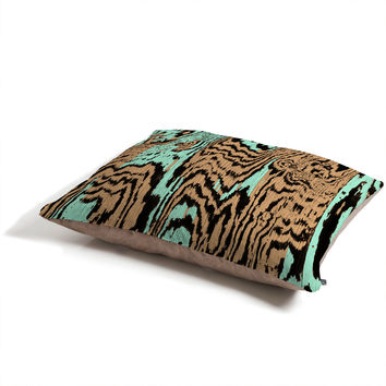 Caleb Troy Aqua Chocolate Safari Pet Bed