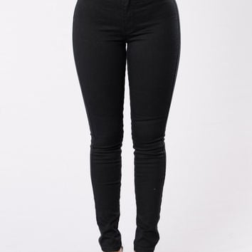 What's Mine Is Yours Jeans - Black