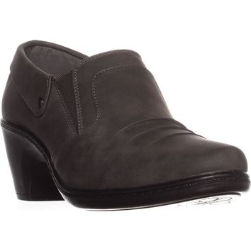 Easy Street Bennett Ankle Booties, Grey, 9.5 US