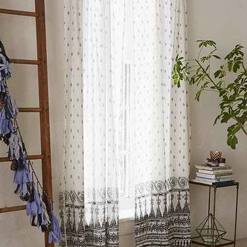 Magical Thinking Sari Curtain