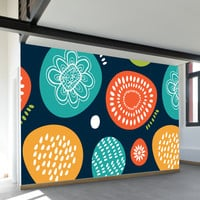 Funny Abstract Wall Mural