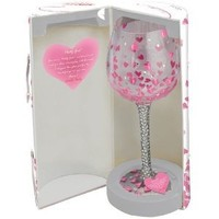 Santa Barbara Design Studio GLS20-5524H Lolita Super Bling Collection Wine Glass, Pretty Girl