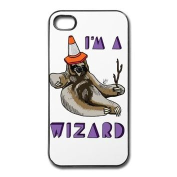 Wizard Sloth iPhone Case | Spreadshirt | ID: 22997833
