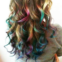 Temporary Hair Color Chalk DIY At Home  PICK A by ShareeBoutique
