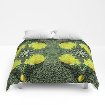 Floral Comforters by Pepita Selles