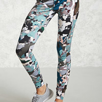Active Abstract Leggings - Women - Activewear - 2000229817 - Forever 21 Canada English