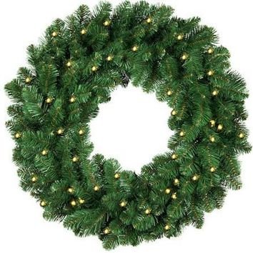 "24"" LED Christmas Wreath"