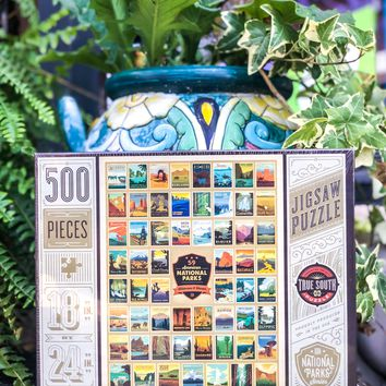 100th Anniversary of the 59 National Parks, Wilderness Wonder, 500 Piece Jigsaw Puzzle
