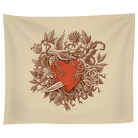 Heart of Thorns Tapestry