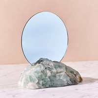 Another Human X UO Natural Crystal Mirror | Urban Outfitters