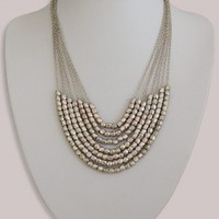 Dionne Necklace in Silver - Accessories  by IGIGI
