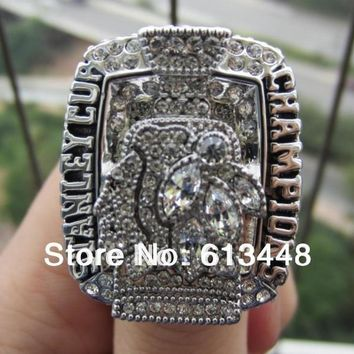 2010 Chicago Blackhawks Stanley Cup ring championship ring NHL ring size 11 FOR ADULT USE  Hockey FAN GIFT