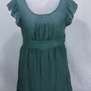 17784 Mine Too... Ruffled Layered Babydoll Blouse Size 2X
