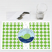 Baby Shower Placemats - Tale Of A Whale