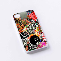Sticker Bomb Supreme and illest iPhone 4/4S, 5/5S, 5C,6,6plus,and Samsung s3,s4,s5,s6