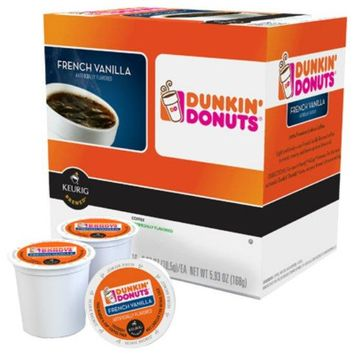 Keurig® 118793 Dunkin' Donuts French Vanilla K-Cups, 16-Count