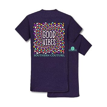 Southern Couture Preppy Good Vibes T-Shirt
