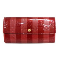 Free Shipping Pre-owned Louis Vuitton Wallet 2012 Valentine Limited Vernis