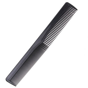 2017 Men Women Salon Black Plastic Cutting Hair Tooth Comb Barber Tool Hairdressing Hair Brush 88 2017