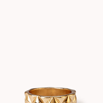 Pyramid Studded Ring