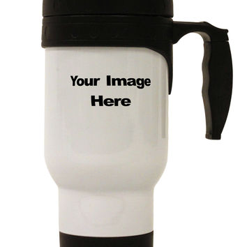 Your Own Image Customized Picture Stainless Steel 14oz Travel Mug