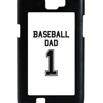 Baseball Dad Jersey Galaxy Note 2 Case  by TooLoud