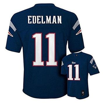 Julian Edelman New England Patriots #11 Nfl Youth Mid Tier Jersey Navy