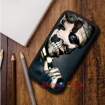 Gothic Skull Tattoo top selling original cell phone case cover for Samsung Galaxy S3 S4 S5 Note 2 Note 3 s6 Note 4 s6