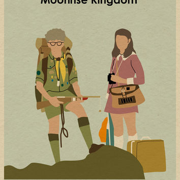 MOONRISE KINGDOM 22x16 Wes Anderson Movie Poster Print