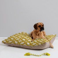 Heather Dutton Starbust Gold Pet Bed