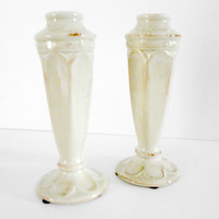 Candle Holders American Atelier Beige Decor