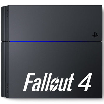 Fallout 4 Logo Sticker Decal PS4 Xbox One 360 Console Game Christmas New