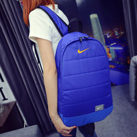 """Nike"" Fashion Travel Bag School Bag Hiking Daypack Rucksack College Backpack"