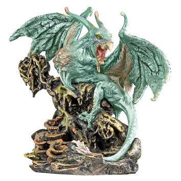 "Park Avenue Collection ""Scylla The Dragon Demon From The Depths Of The Sea"" Statue"