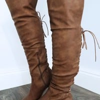 Looking Forward Boots: Tan