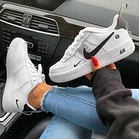Nike Air Force 1 Low Black-and-white low-top shoes