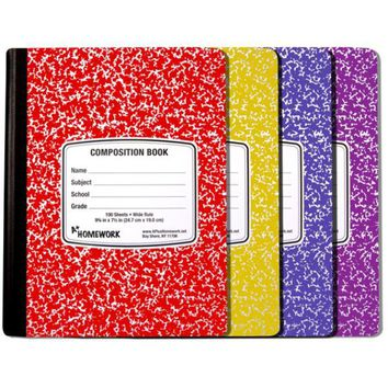 Composition Notebook Wide Ruled Case Pack 24