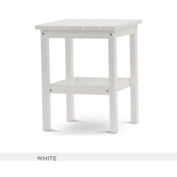 """Durogreen® Recycled Plastic 15"""" Side Table - Quick Ship"""