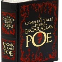BARNES & NOBLE | The Complete Tales and Poems of Edgar Allan Poe (Barnes & Noble Leatherbound Classics) by Edgar Allan Poe, Barnes & Noble | Hardcover