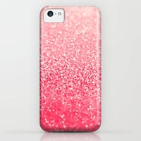 GATSBY CORAL iPhone & iPod Case by Monika Strigel