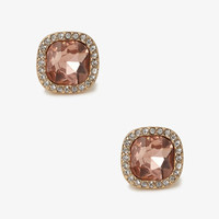 Colored Faux Gem Studs
