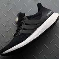 Adidas Ultra Boost UB 3 AQ8842 Women Men Fashion Trending Shoes Sneakers Black