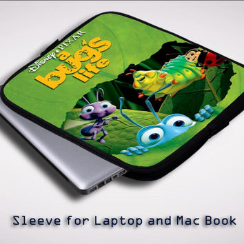a bugs life disney Z0524 Sleeve for Laptop, Macbook Pro, Macbook Air (Twin Sides)