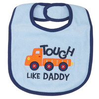 Koala Baby Boys' Tough Like Daddy Bib
